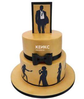 Торт с ярусами для мужчины-16