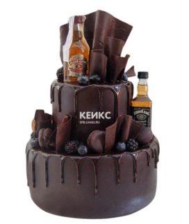 Торт с ярусами для мужчины-2