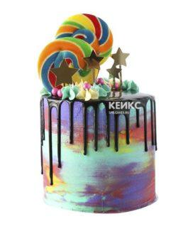 Торт с леденцами-10