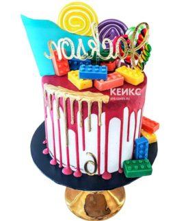 Торт с леденцами-3