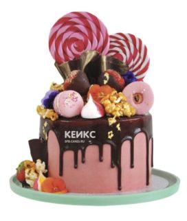 Торт с леденцами-4