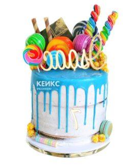 Торт с леденцами-5