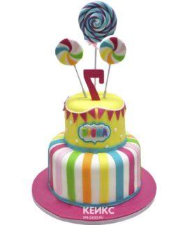 Торт с леденцами-7