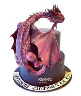Торт с мастикой прикольный