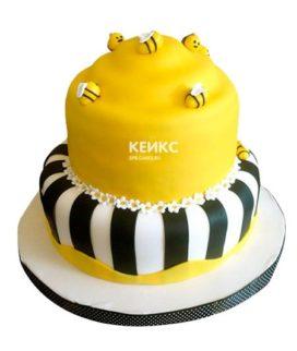 Торт с пчелой-11