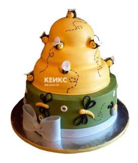 Торт с пчелой-2