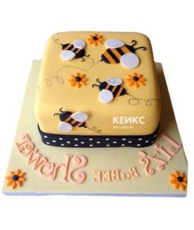 Торт с пчелой