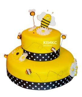 Торт с пчелой-3