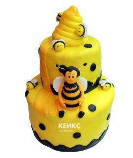 Торт с пчелой-6
