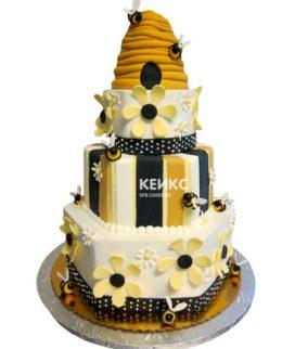 Торт с пчелой-7