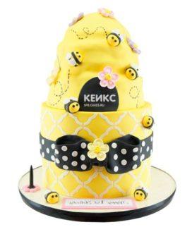 Торт с пчелой-8