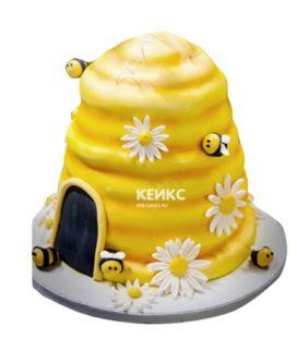 Торт с пчелой-9
