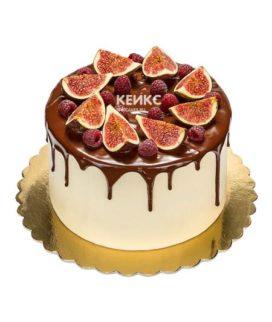 Торт с подтеками для мужчины-4