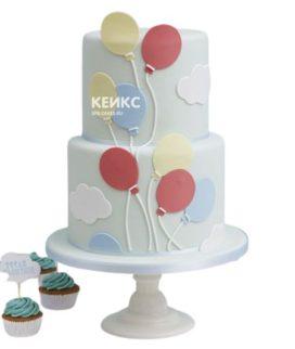 Торт с шариками 12