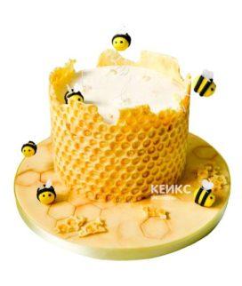 Торт с сотами-5