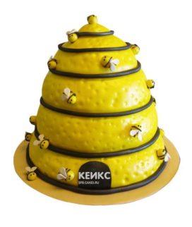 Торт с ульем-10
