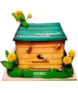 Торт с ульем-11