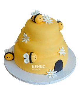 Торт с ульем-4