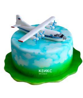 Торт самолет-8