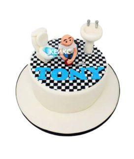 Торт сантехник-10