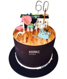 Торт сантехник-11