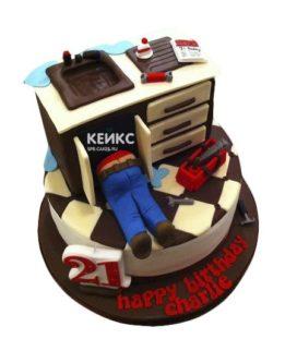 Торт сантехник-8