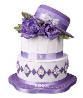 Торт шляпа мастика-1