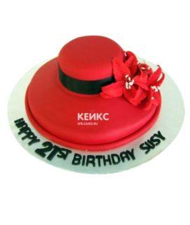 Торт шляпа мастика-2