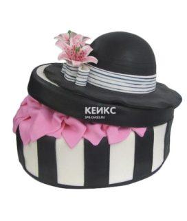 Торт шляпа мастика-4