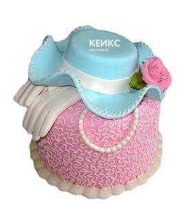 Торт шляпа мастика-5
