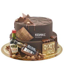 Торт шоколадный для мужчины-3