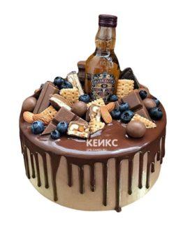 Торт шоколадный для мужчины-5