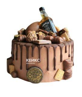 Торт шоколадный для мужчины-7