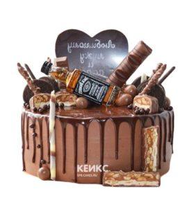 Торт шоколадный для мужчины-8