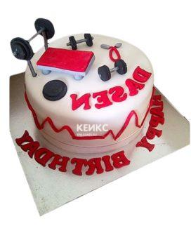 Торт штанга-1