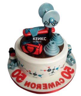 Торт штанга-2