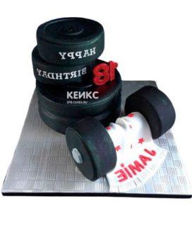 Торт штанга-4