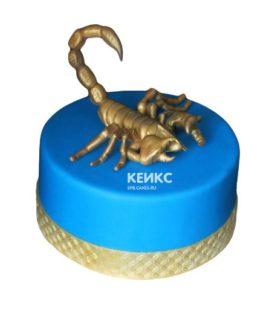 Торт скорпион-6