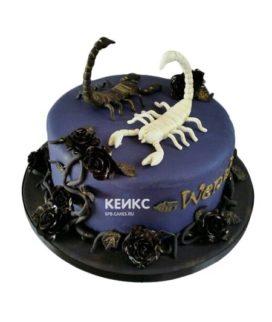 Торт скорпион-7