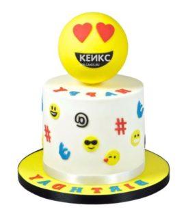 Торт смайлик 7