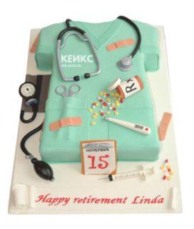 Торт спасибо врачу-1