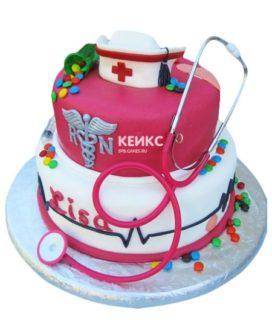 Торт спасибо врачу-12