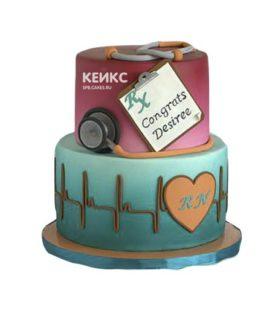 Торт спасибо врачу-16