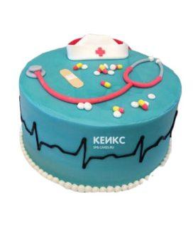 Торт спасибо врачу-17