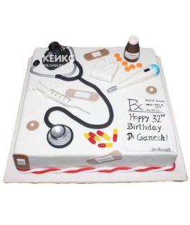 Торт спасибо врачу-20