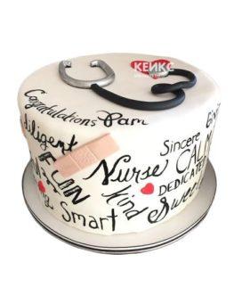 Торт спасибо врачу