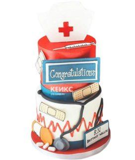 Торт спасибо врачу-6