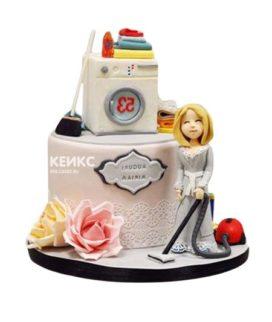 Торт стиральная машина-1