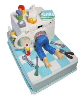 Торт стиральная машина-10