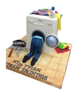 Торт стиральная машина-2